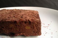 Brownie de batata y chocolate light