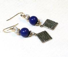 Matzah Earrings for Passover by lindab142 on Etsy, $14.50
