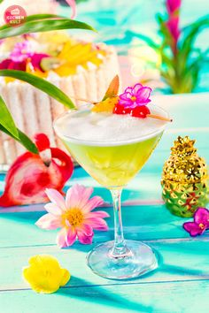 #alkoholfreier #Cocktail #Mocktail #jungle #Party #exotic