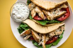 Recipe: Ranch Chicken Wraps — Recipes from The Kitchn  (Homemade ranch dressing recipe included)