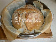 Chléb pečený v kastrolu recept - Vareni.cz Pavlova, Food And Drink, Bread, Cooking, Blessed, Kitchen, Brot, Baking, Breads