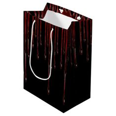 Shop Blood Drips Medium Gift Bag created by BlueRose_Design. Halloween Party Supplies, Halloween Gifts, Custom Napkins, Party Hacks, Customizable Gifts, Burke Decor, Gift Bags, Personalized Gifts, Blood