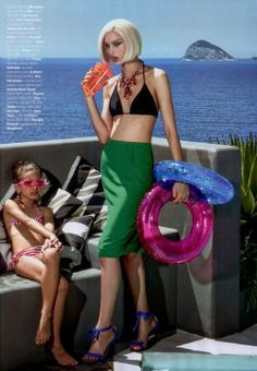 The swim instructor is late!     Vogue Brazil November 2013
