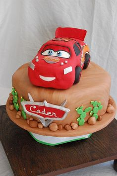 Lighting McQueen...maybe Mater for next birthday