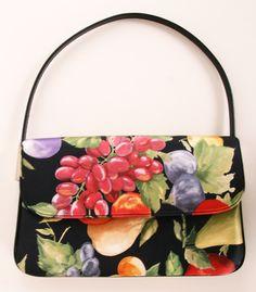 Dolce & Gabbana Fruit Print Bag