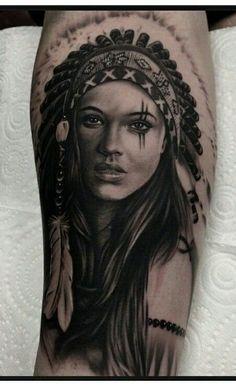 Native American Portrait..