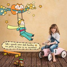 R00369 Wall Stickers Sticker Adesivi Murali Camerette Il piccolo principe 120x40 | eBay