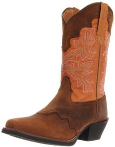 $185, Tony Lama Boots Dusty Cherokee Rr2107l Boot. Sold by Amazon.com. Click for more info: https://lookastic.com/women/shop_items/41668/redirect
