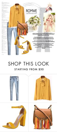 """""""Romwe (3) 8"""" by aida-1999 ❤ liked on Polyvore featuring Steve Madden and Chloé"""