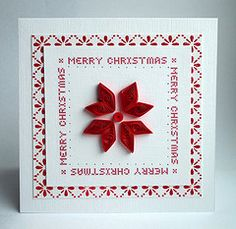 Merry Christmas (..::aga::..) Tags: christmas card merrychristmas quilling s5213 blogday2009
