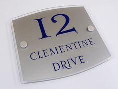 House Numbers  An easy way to style your homes entrance - a De-signage sign (12 photos) An easy way to style your homes entrance - Add a De-signage House Sign. Greet your visitors in-style at a fraction of the rrp this sign is currently on #offer with 20% off So get cracking design_your_sign_online here --> http://www.de-signage.com/contemporary-acrylic-house-name-plate.php   These #Happy #Customers did :)