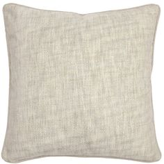 L-TEX Textured Hues Pillow in Cream design by Villa Home ($59) ❤ liked on Polyvore featuring home, home decor, throw pillows, villa home collection, cream throw pillows, ivory throw pillows, beige throw pillows en textured throw pillows