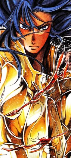 Saint Seiya - The Lost Canvas - Gemini Deuteros