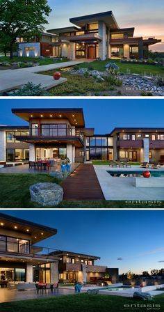 The Entasis Group have designed the Holly House, a new home in Cherry Hills Village, Colorado, that features views of the Rocky Mountains.
