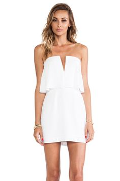 BCBG Kate Strapless Mini Dress