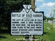 The battlefield at Cold Harbor, outside of Richmond, is not large, and only has two interpretive signs, but it is powerful...knowing what happened there.