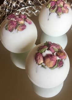A personal favorite from my Etsy shop https://www.etsy.com/listing/514466009/mothers-day-flower-buds-bath-bomb-rose
