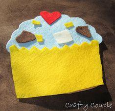 Cupcake Busy Bag Craft