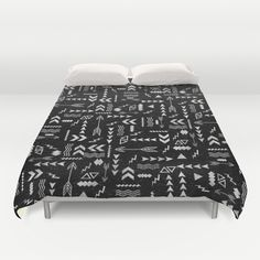 Follow The Arrows Duvet Cover by Girly Trend - $99.00