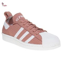 Adidas Superstar 80's Primeknit Slip-On Femme Baskets Mode Rose - Chaussures adidas (*Partner-Link)