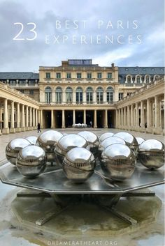 These 23 best things to do in Paris will give you the perfect feel for Paris. From favorite sites like the Eiffel Tower to off the beaten path treasures. You are sure to enjoy them all. #thingstodoinparis #parisexperiences #bestthingstodoinparis #highlightsinparis #whattoseeinparis #topthingstoseeparis #unique experiencesparis Paris Travel Guide, Travel Guides, Travel Tips, Village Tours, Paris Restaurants, Worldwide Travel, Medieval Town, Travel Information, France Travel