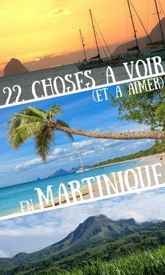 La Martinique est une destination magique des Antilles. Elle a des plages paradisiaques, sa nature tropicale est un paradis pour la randonnée, et puis, elle a un sacré caractère créole ! Une destination idéale pour une semaine en famille au soleil. #Martinique #France #travel #voyage #island #sun #île #soleil #tourism #tourisme #Antilles #Carribean #see #mer #beach #plage #holiday #vacances