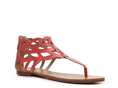 G by GUESS Locket Flat Sandal Women's Flat Sandals Sandals Women's Shoes - DSW
