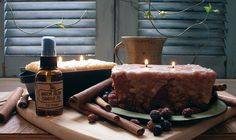 """Two wick loaf ~ Available in four yummy fragrances. Approximately 2.5"""" high x 5.5"""" width. Classic lumpy, bumpy exterior"""