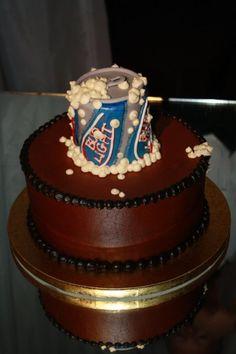 Send a Smile Men's Birthday - bday cake idea for the Mr. :)