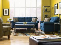 Laurel  Stationary Living Room Group by La-Z-Boy