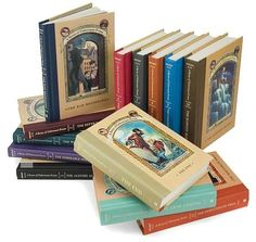 Lemony Snicket's A Series of Unfortunate Events. An amazing series! Everyone should read these!