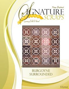 Burgoyne Surrounded quilt. Kaye England