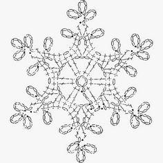 Billedresultat for crochet snowflake chartSet of 6 crochet snowflakes crochet by SevisMagicalStitches - SalvabraniCrochet Patterns Christmas Crochet picture result for stars freeSome snowflakes patterns I liked (not mine) - Salvabrani Crochet Snowflake Pattern, Crochet Motifs, Crochet Snowflakes, Crochet Diagram, Thread Crochet, Crochet Doilies, Crochet Flowers, Crochet Stitches, Crochet Patterns