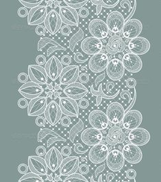 Buy Lace Seamless Pattern by macrovector on GraphicRiver. Vector Old Lace Seamless Pattern, ornamental flowers. Editable EPS and Render in JPG format Lace Drawing, Pattern Drawing, Lace Patterns, Embroidery Patterns, Stencil, Lace Painting, Paper Lace, Bobbin Lace, Lace Design