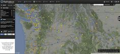 Six Web sites you can use to track flights in real time: FlightRadar24