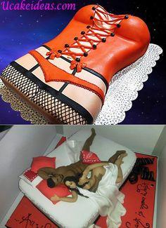 Saucy cake for men fooooood p Pinterest Cake Birthday