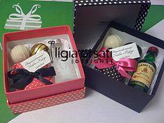 Caixa Lembranças Padrinhos Container, Best Man Wedding, Wedding Inspiration, Cartonnage, Boxes, Handmade Crafts