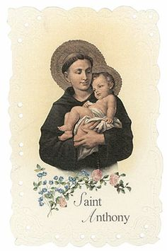Anthony of Padua, finder of lost items Catholic Beliefs, Catholic Saints, Religious Text, Religious Icons, Ascension Of Jesus, Divine Mercy Sunday, St Gerard, Saint Anthony Of Padua, St Faustina