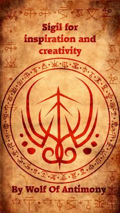 Sigil for inspiration and creativity