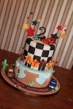 @KatieSheaDesign ♡❤ #Cars ❥  Cars cake