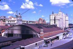 Brisbane Central Station 1954