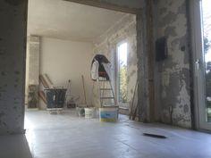 Stucwerk renovatie woning