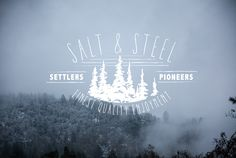 Salt & Steel Collective — Winter is coming! Enjoy this season, don't worry...   Winter   Typography   Lettering