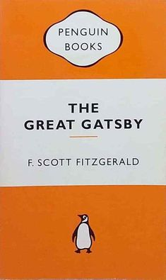 The Great Gatsby by F. Scott Fitzgerald Popular Penguins used paperback The Great Gatsby, Scott Fitzgerald, Penguins, Author, Popular, Most Popular, Writers, Penguin, Folk