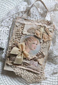 Shabby Chic Inspired: some christmas gifts for dear friends   -Now on my wall ,Thankyou dear Viola.