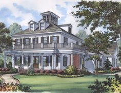 The Mercedes House Plan - 4449