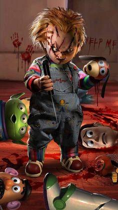 Chucky vs Toy Story