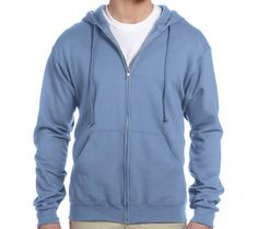 8 oz. NuBlend 50/50 Full-Zip Hood