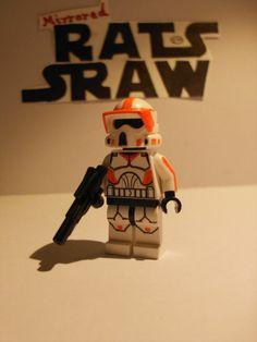 Lego Star Wars minifigures - Clone Custom 212th ARF Trooper Star Wars Clone Wars, Lego Star Wars, Lego Clones, Lego Army, Star Wars Costumes, Lego Figures, Star Wars Minifigures, Lego Stuff, Custom Lego