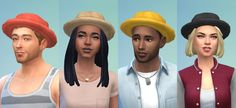 Jool's simming - Moar hats! This time it's a simple fabric hat. ...
